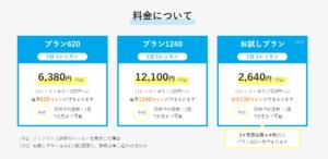 産経オンライン英会話Plusの料金